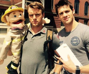 chicago fire, jesse spencer, and steven r. mcqueen image