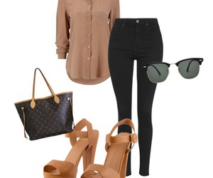 black, camel, and office image