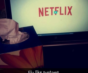 movie, watching, and netflix image