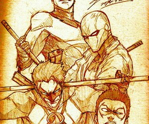 robin, red hood, and nightwing image