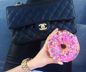 donuts, chanel, and food image