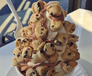 cookie, ice cream, and sweets image