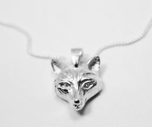 fox, jewellery, and silver image