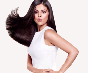 selena gomez, pantene, and woman image