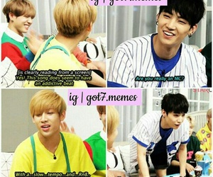 meme and got7 image