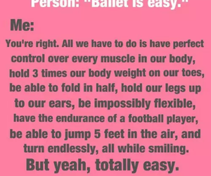 ballet, quotes, and true image