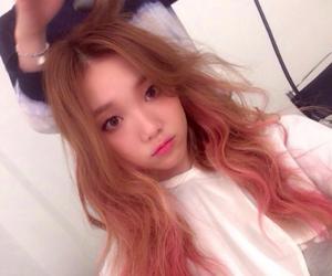 korean and girl image