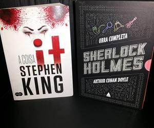 book, books, and sherlock image
