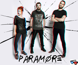 3d, hayley williams, and jeremy davis image