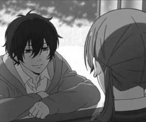 anime, tonari no kaibutsu-kun, and haru image