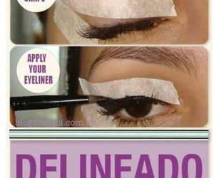 diy, Easy, and howtoeyeliner image