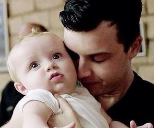 shameless, baby, and mickey milkovich image