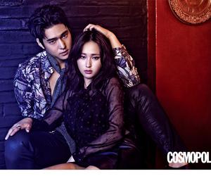 cosmopolitan, couple, and dark fashion image