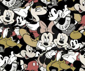 background, disney, and mickey image