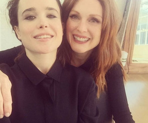 ellen page and julianne moore image