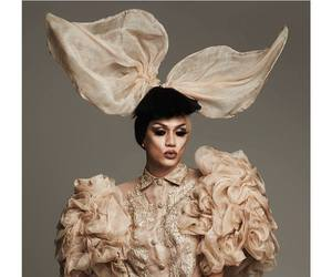 drag queen, fashion, and queer image