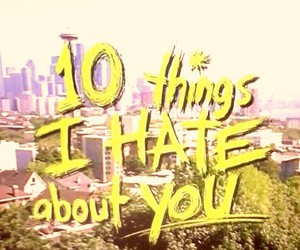 10 things i hate about you, movies, and old image
