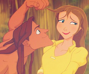tarzan, disney, and jane image