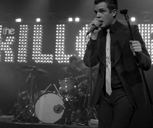 the killers, brandon flowers, and band image