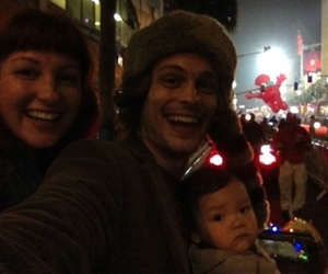 matthew gray gubler, sister, and laura dahl image
