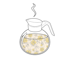 coffee, coffee pot, and fantasy image