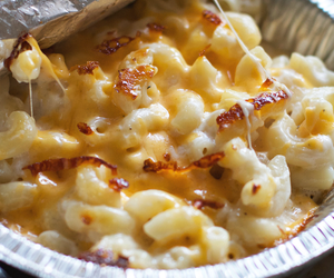 cheese, food, and mac image
