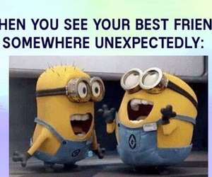 best friend, funny, and bestie image