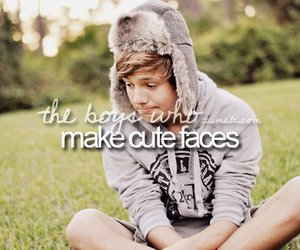 cute, boy, and face image