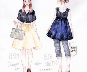 animation, anime, and fashion image