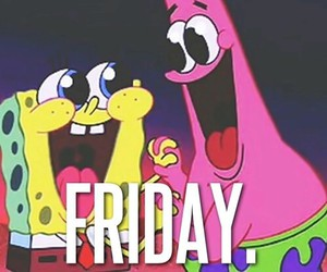 friday, happy, and patrick image