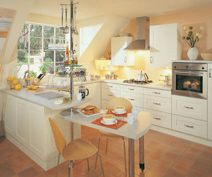 traditional kitchen and new decor cream kitchen image