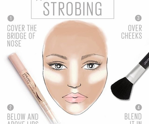 makeup and strobing image