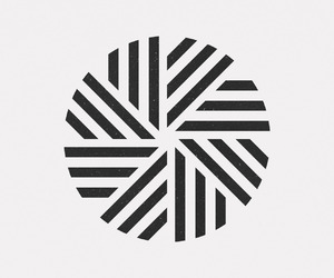 abstract, b&w, and geometry image