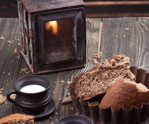 autumn, food, and milk image