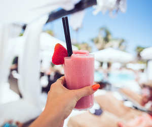 summer, drink, and smoothie image