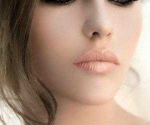 kobieta, makijaż, and uroda image