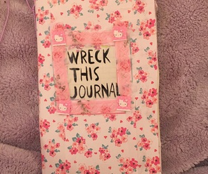 pink and wreck this journal image
