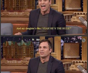 funny, mark ruffalo, and Hulk image