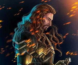the hobbit, king, and erebor image