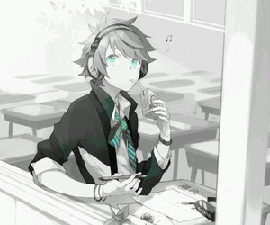 anime, cute boy, and art draw image