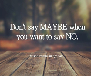 maybe, words, and yes image