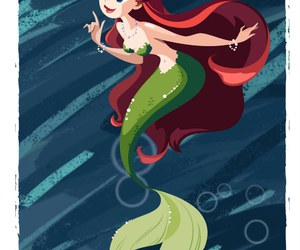 ariel and mermaid image
