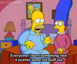 homer simpson, marge simpson, and quotes image