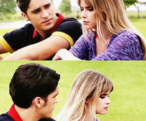 scream, carlson young, and tom maden image