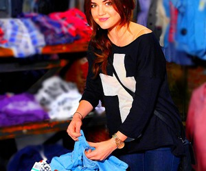 actress, girl, and lucy hale image