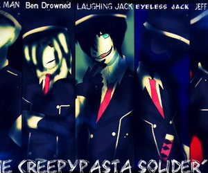 cool, soldiers, and creepypasta image