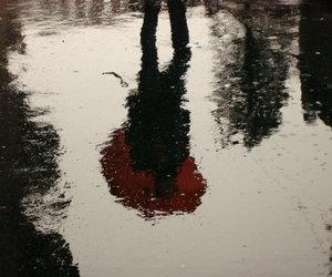 rain and umbrellas image