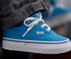 vans, baby, and blue image
