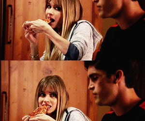 pizza, scream, and carlson young image