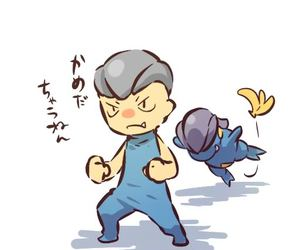pokemon and gijinka image